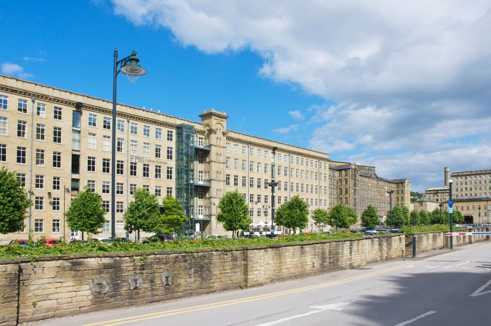 Dean Clough Mills, home of Crossley Scott